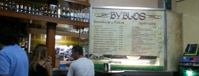 Byblos is one of lugares madrid.