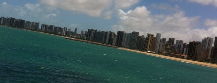 Praia de Iracema is one of Fortaleza.