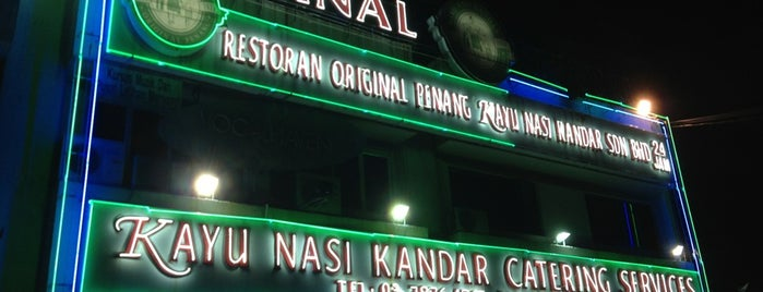 Original Penang Kayu Nasi Kandar is one of Eating in KL.