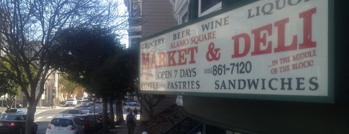 Alamo Square Market & Deli is one of Favorite Food.