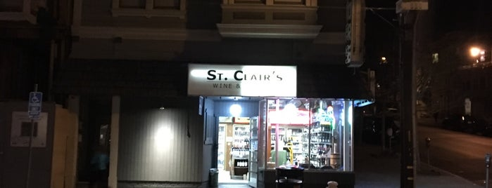 St. Clair's Liquor is one of FOOD-SHOP.