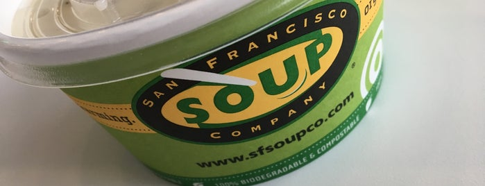 San Francisco Soup Company is one of Lunch options in the FiDi.
