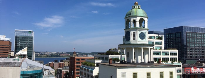 Old Town Clock is one of Halifax, NS.