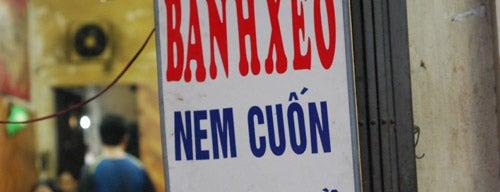 Bánh Xèo Nem Cuốn is one of ăn uống Hn.