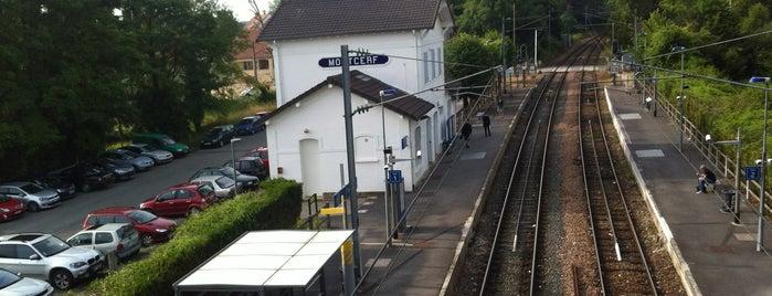 Gare SNCF de Mortcerf is one of Pézarches et environs.