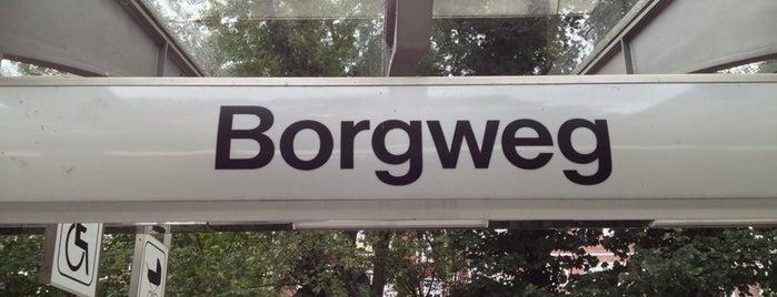 U Borgweg is one of Alles in Hamburg.