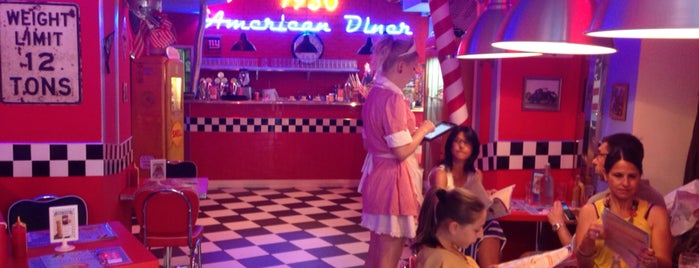 1950 American Diner is one of Mangiare vegan a Firenze.