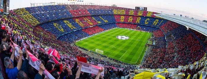 Camp Nou is one of ESPAÑA-ESPAGNE-SPAIN IS DIFFERENT.