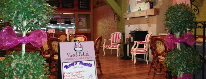Sweet Cece's Cafe is one of my charleston places.