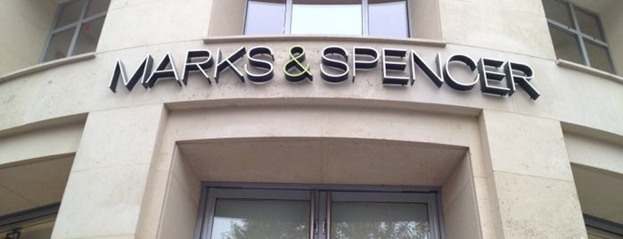 Marks & Spencer is one of Essential shopping in Paris.