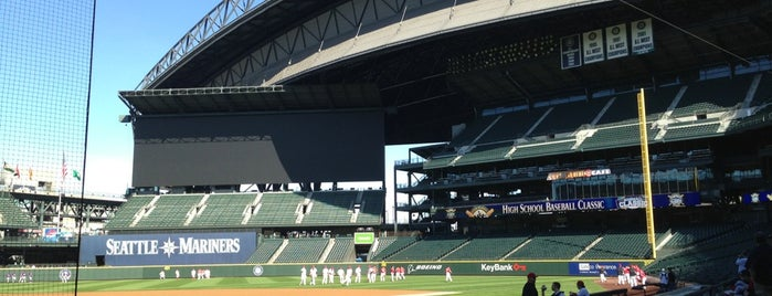 Safeco Field is one of MLB parks.