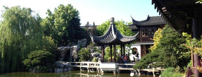 Lan Su Chinese Garden is one of Dan's Portland.