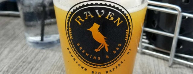 Raven Brewing & BBQ is one of Chicagoland Breweries.