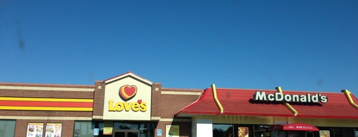Love's Travel Stop is one of favorite places.