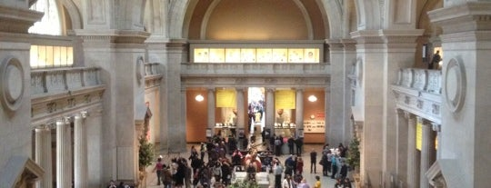 The Great Hall at The Metropolitan Museum of Art is one of Architecture - Great architectural experiences NYC.