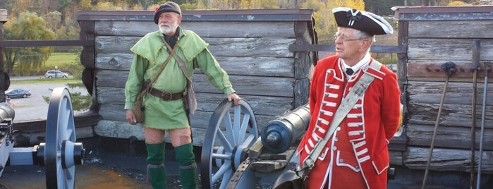Fort William Henry is one of Guide to Lake George's best spots.