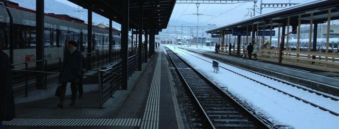 Gare de Delémont is one of Bahnhöfe.