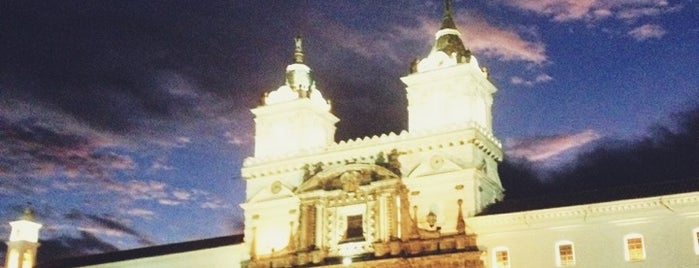 Plaza San Francisco is one of Ecuador best spots.