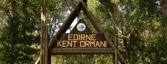 Edirne Kent Ormanı is one of Edirne Rehberi.