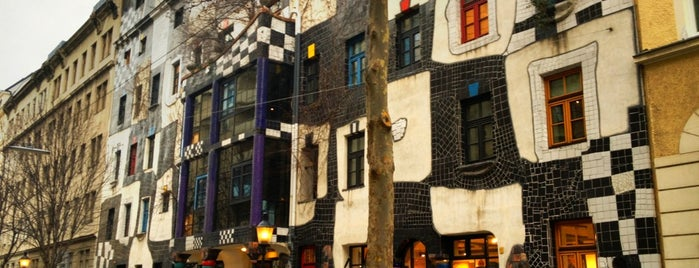 KUNST HAUS WIEN. Museum Hundertwasser is one of Viyana.