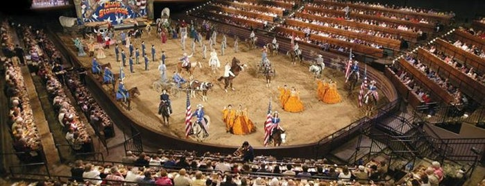 Dolly Parton's Dixie Stampede is one of Top 10 favorites places in Branson, MO.