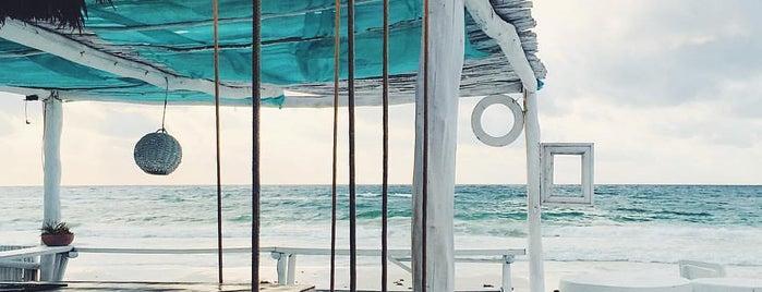 coco tulum beach bar is one of Caribbean.
