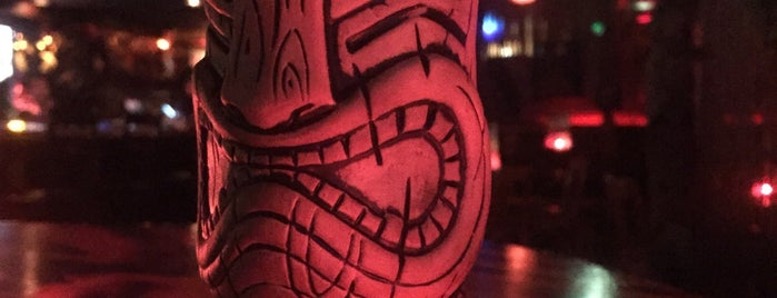 Frankie's Tiki Room is one of 50 Top Cocktail Bars in the U.S..