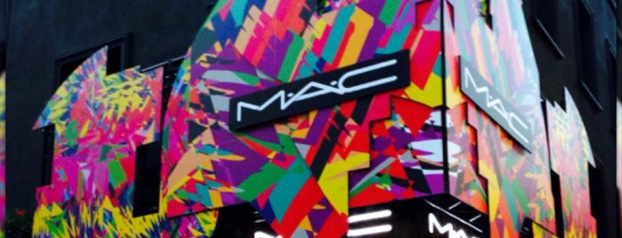 MAC Cosmetics is one of Soho spring NY.