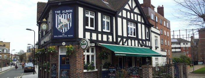 The Albion is one of Places To Go.