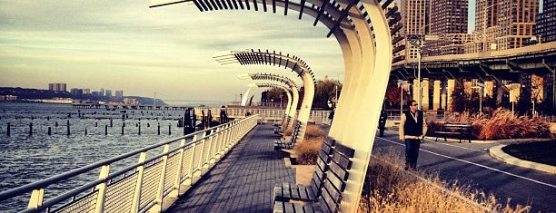 Hudson River Park is one of 60 Thompson's Neighborhood Favorites.