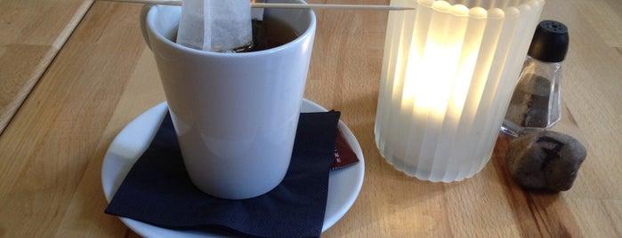Cafe Kridt is one of Koffeintankstellen.