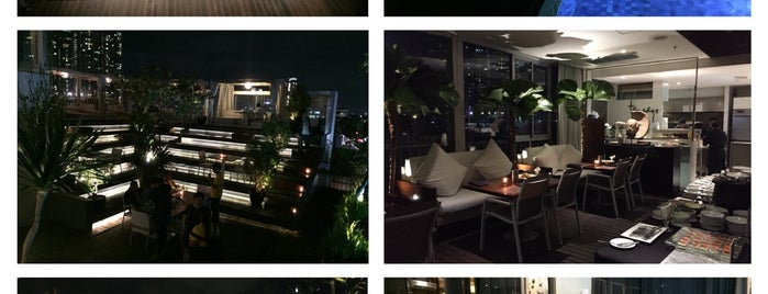 The Edge is one of Destination in Jakarta..