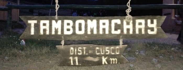 Tambomachay is one of Perú.