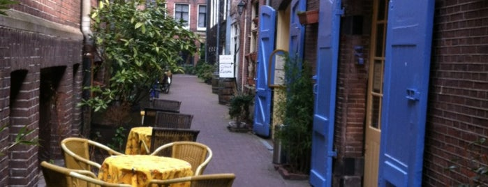 Kapitein Zeppos is one of The 15 Best Places for Hidden Dining in Amsterdam.