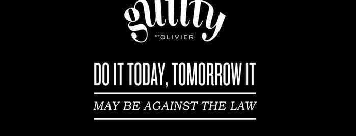 Guilty by Olivier is one of Restaurantes.