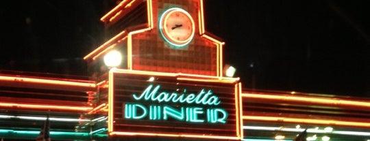 Marietta Diner is one of Atlanta Open 24 Hours.