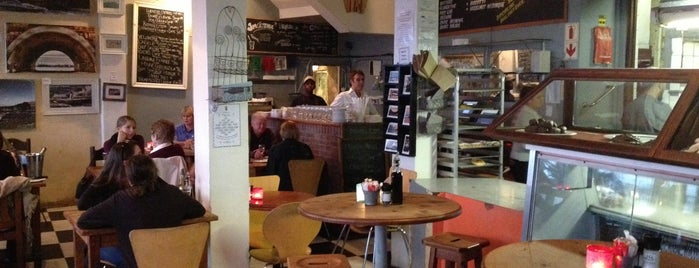 Olympia Café & Deli is one of The Foodie's favourite breakfasts..
