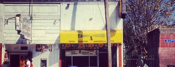 Taqueria El Farolito is one of San Francisco.