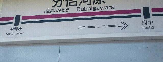 Bubaigawara Station is one of 国立・立川・府中周辺.