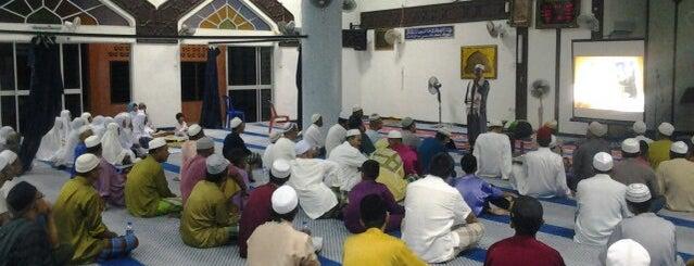 Masjid Meraga Beris is one of masjid.
