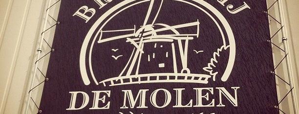 Brouwcafé de Molen is one of Beer / RateBeer's Top 100 Brewers [2015].