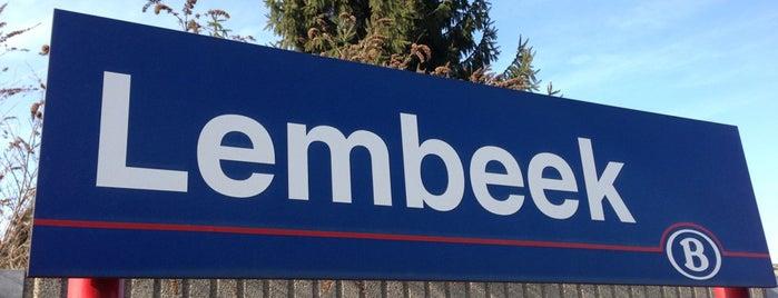 Station Lembeek is one of Bijna alle treinstations in Vlaanderen.