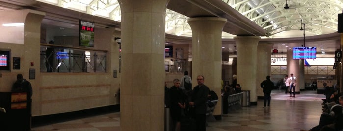NJ Transit Waiting Area is one of 1.