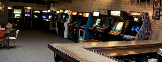 Barcade is one of Free/dirt cheap NYC places to take out-of-towners.