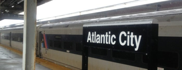 NJT - Atlantic City Terminal (ACRL) is one of New Jersey Transit Train Stations I Have Been To.