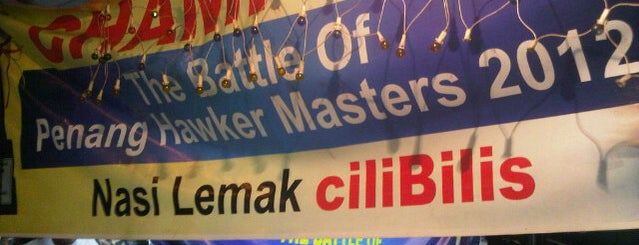 Nasi Lemak ciliBilis is one of Makan @ Utara #7.