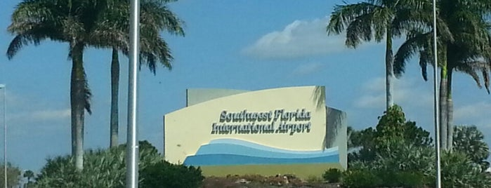 Southwest Florida International Airport (RSW) is one of Been Here.