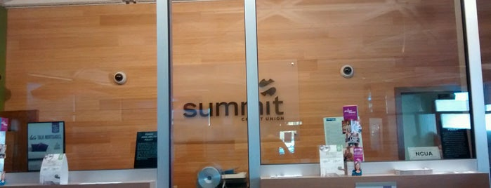 Summit Credit Union is one of My Faves.