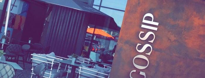 GOSSIP Cafe & Desserts is one of Dubai eats.