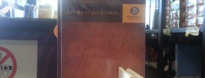 OldTown White Coffee is one of restaurant.